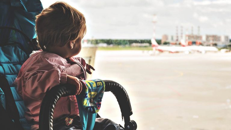 Guide to Flying With a Stroller